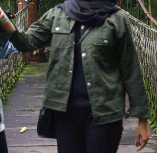 Outer Jacket Army