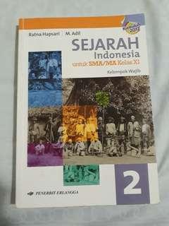 Sejarah Indonesia Wajib Kelas 11 Erlangga