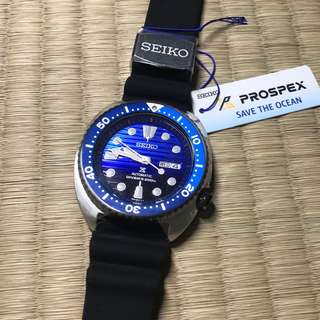 Seiko SRPC91 行貨 save the ocean 超靚藍面 Crafter Blue