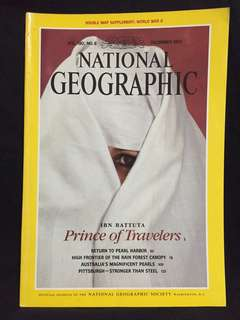 National Geographic December 1991 issue