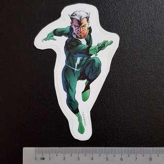 C5 Marvel Quicksilver Sticker Stickers