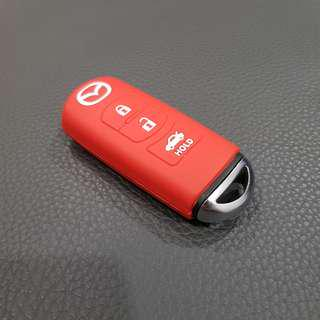 Mazda Car Key Silicon Cover (Red)