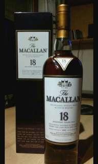 (1995)麥卡倫Macallan 18 years old