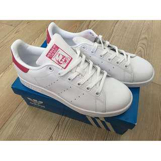 New Adidas Originals Stan Smith Sneakers Shoes Size 6 8 8.5 Pink