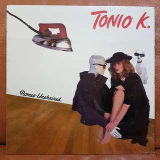 Reserved: (Sealed) Tonio K. - Romeo Unchained Vinyl Record