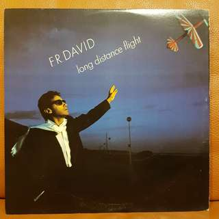 F.R. David - Long Distance Flight Vinyl Record