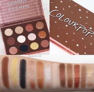 (READY STOCK) COLOURPOP - Eyeshadow Palette (I Think I Love You)