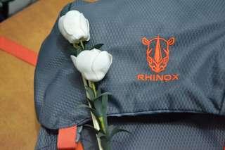 Rhinox 60L Hiking Bag with Rain Cover