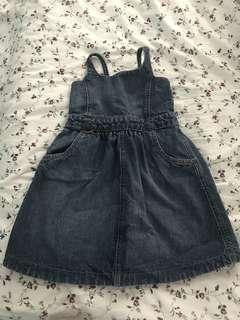 #postforsbux Baby Gap Girl Jeans Dress