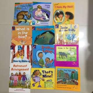 Phonics books N2-K1
