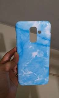 Marble Softcase Samsung A6+