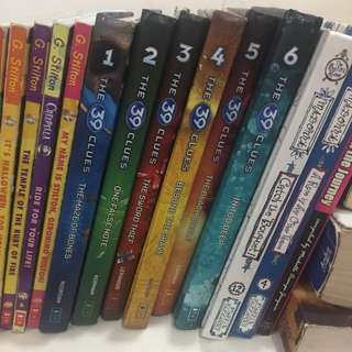 The 39 Clues Books 1-6