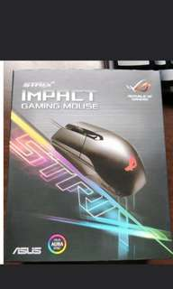 ASUS ROG STRIX IMPACT  GAMING MOUSE (BRAND NEW)