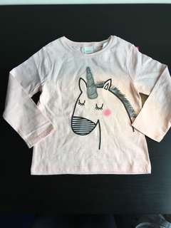 [readystock] NEXT girls long sleeves tshirt (2-3y)