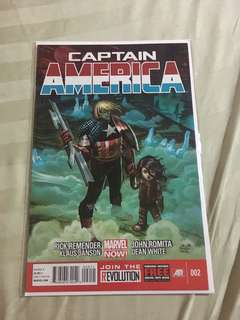 Captain America #2 #caroucomicon