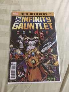 The Infinity Gauntlet #1 #caroutye
