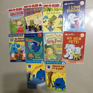 Phonics books K2-P1