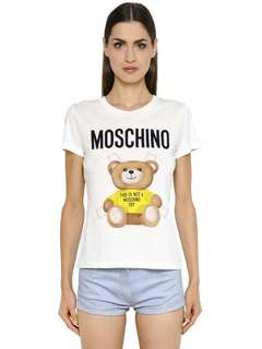 Moschino teddy bear修身t-shirt