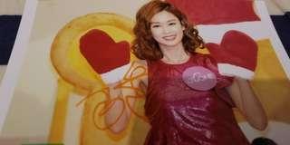 TVB 岑麗香簽名