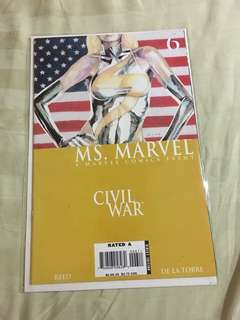 Civil War - Ms. Marvel #caroucomicon