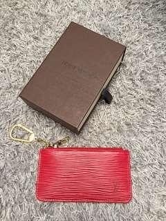 Authentic LV epi key pouch