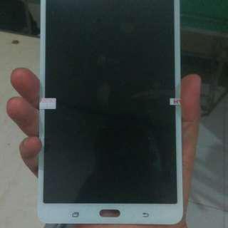 LCD 1 SET TAB SAMSUNG T285 GALAXY TAB 7 2016 ORIGINAL WHITE