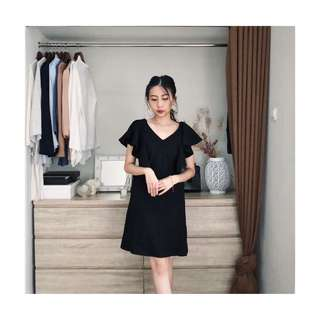 POMELO Black Dress