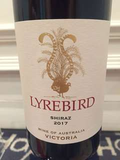 Lyrebird Shiraz 2017 Wine of Australia Victoria