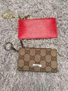 Authentic key pouch