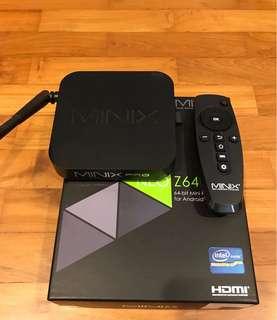 Android Box MINIX NEO Z64-Pristine Condition!