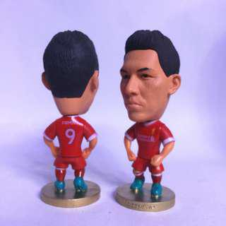 Firmino No.  9 football figurine toy collectible Soccerwe kodoto
