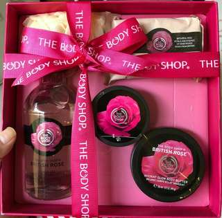 Body shop gift package