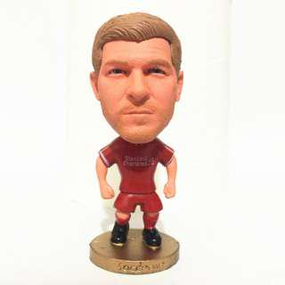 Steven Gerrard football figurine toy collectible Soccerwe kodoto