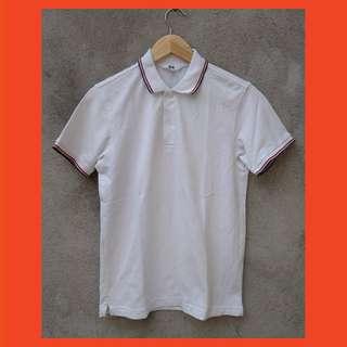 Uniqlo Polo Shirt White Original