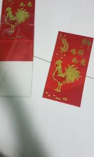 Olympia printing ang pow red packet (brand new)