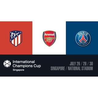 2018 INTERNATIONAL CHAMPIONS CUP IN SINGAPORE