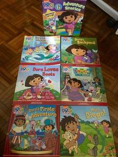 DORA the explorer - 6 adventure stories