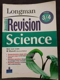 Primary 3/4 Longman Revision Science
