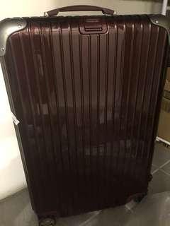 Rimowa limbo29寸酒紅行李箱
