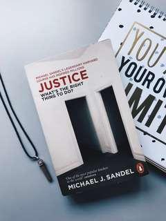 Justice by Michael J. Sandel #postforsbux