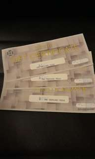 Travel Club Gift Certificates