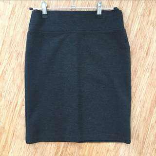 Review grey pencil skirt business corporate work wear