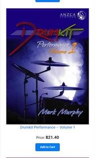 ANZCA Drumkit Performance Volume 1
