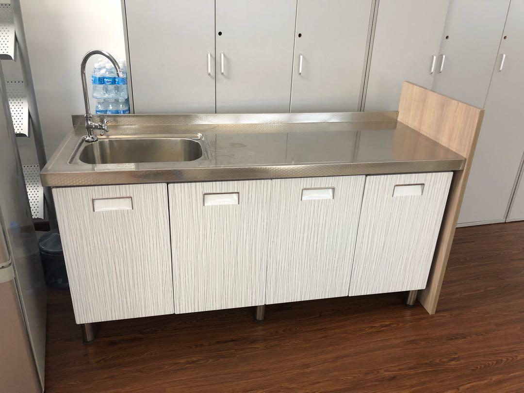 304 Stainless Steel Kitchen Cabinet
