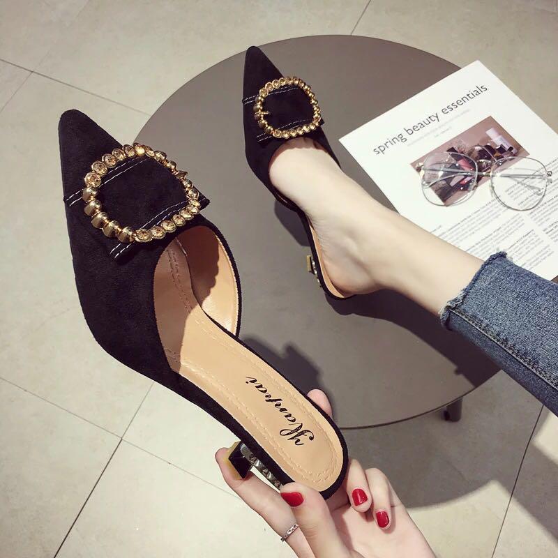 女神鞋 拖鞋高踭鞋