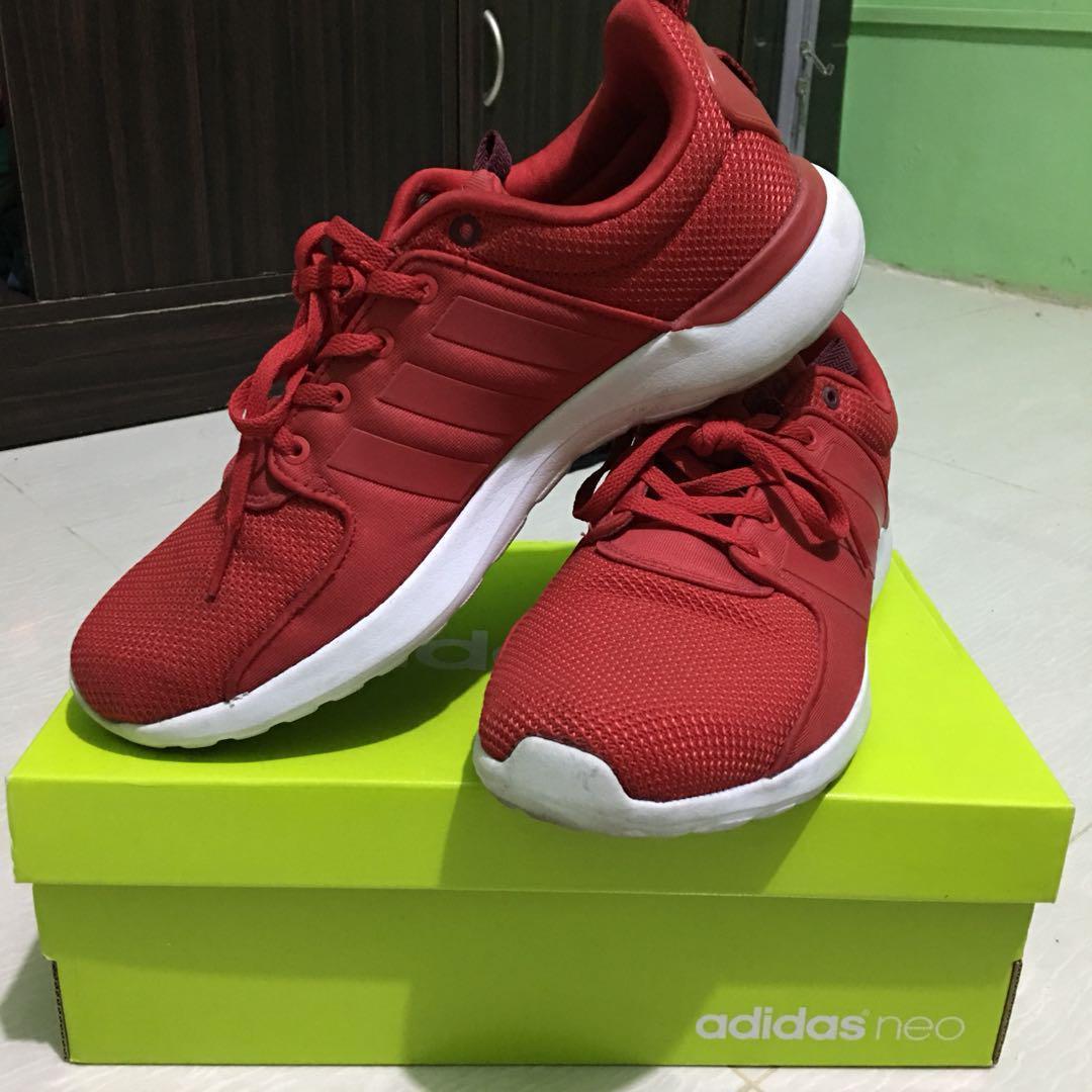 Adidas Cloudfoam Lite Racer - Red, Men