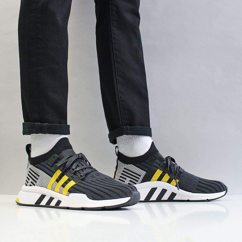 new concept 4b2fc 03987 Adidas EQT Support Mid ADV Primeknit, Mens Fashion, Footwear, Sneakers on  Carousell