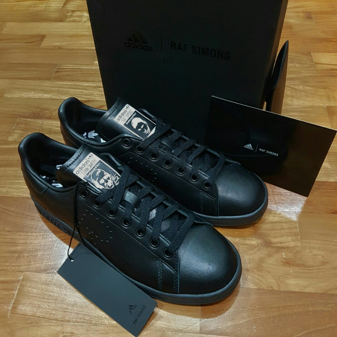 54548391438a5 Adidas x Raf Simons Stan Smith Black US 8.5