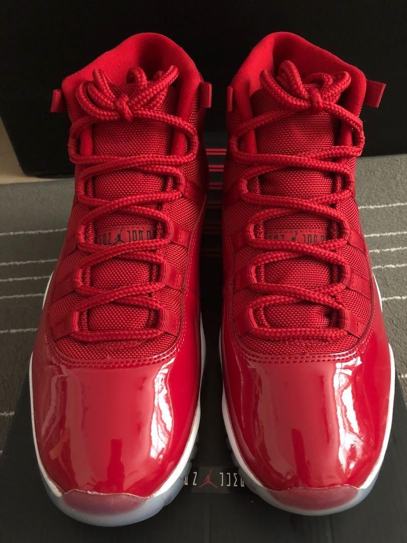 3644b911249ff2 Air Jordan 11 Gym Red