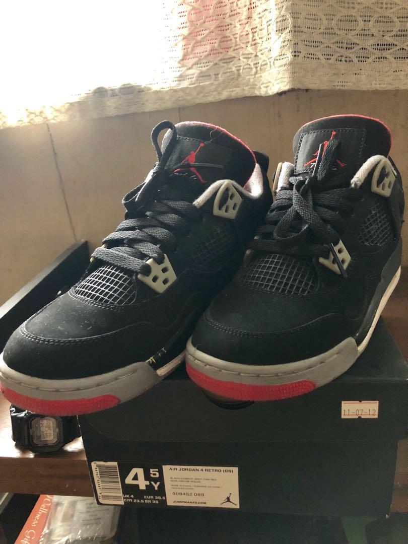 2d30d4b985f382 Air Jordan 4 Retro (GS)
